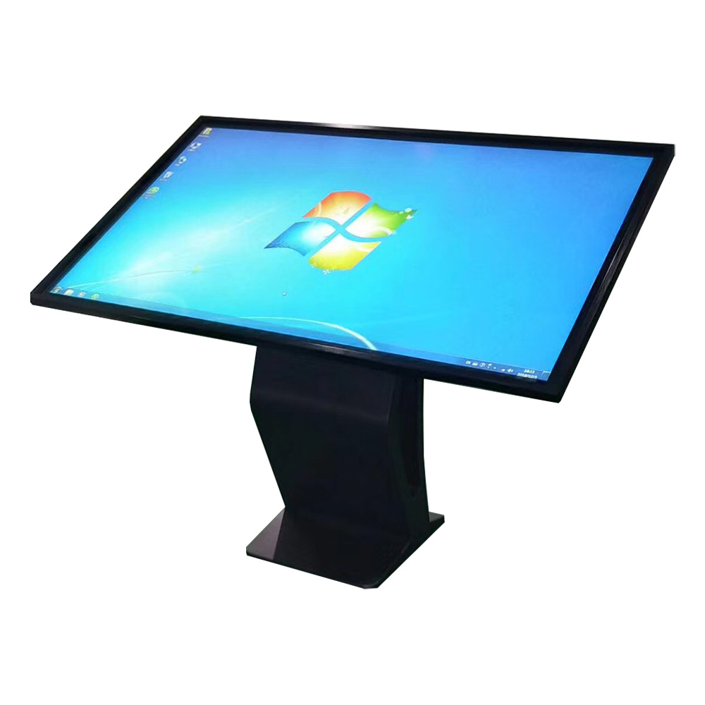 "42"" floor standing interactive touch screen kiosk"